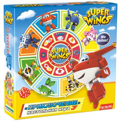 SuperWings Наст.игра Карусель-Лото Прикл