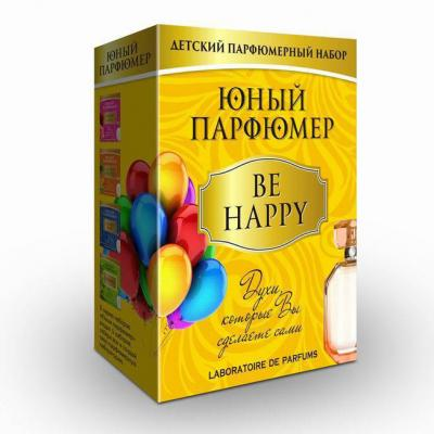 Набор ДТ Юный парфюмер Be Happy 330 /Mas