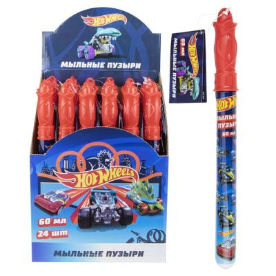 Мыл. пузыри Т17294 Hot Wheels 60 мл 1toy
